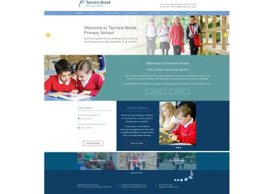 Tanners-Brook-Primary-School Web Design Edinburgh
