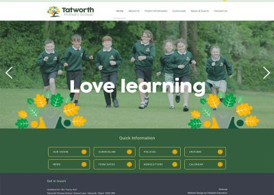 Tatworth-Primary-School Web Design Edinburgh