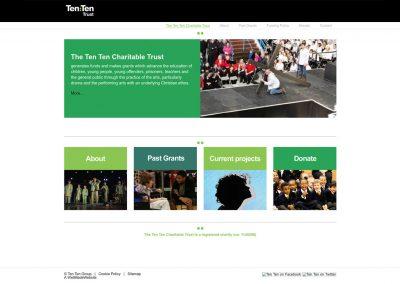 TenTen-Charitable-Trust Web Design Edinburgh