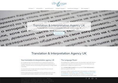 The-Language-Room Web Design Edinburgh