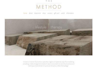 The-Method-Massage Web Design Edinburgh