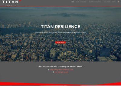 Titan-Resilience-Security-Service Web Design Edinburgh