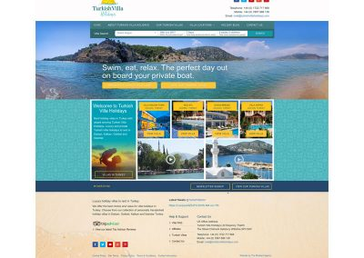 Turkish-Villa-Holidays Web Design Edinburgh