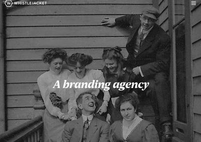 Whistlejacket-agency Web Design Edinburgh