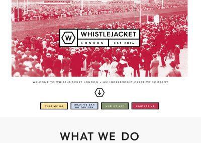 Whistlejacket-london-branding-agency Web Design Edinburgh