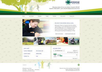 Wolverdene-Special-School Web Design Edinburgh
