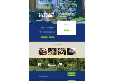 Yeading-Infant-Nursery-School Web Design Edinburgh
