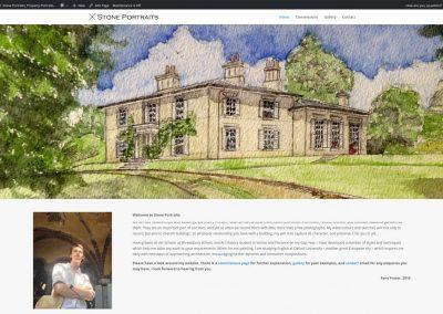 Artist Web Design Edinburgh
