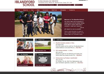 blandfordschool Web Design Edinburgh
