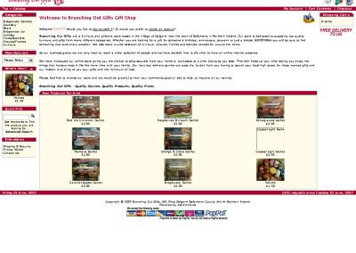 branchingout ecommerce Web Design Edinburgh