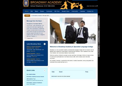 broadway School Web Design Edinburgh