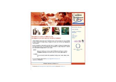 caddon Health Web Design Edinburgh.