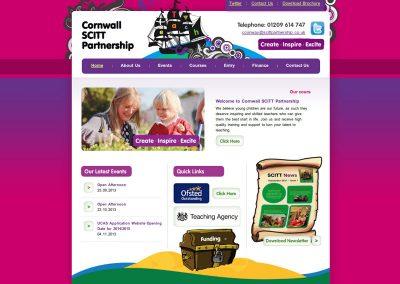 cornwallscitt education Web Design Edinburgh