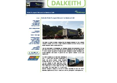 dalkeith Transport Web Design Edinburgh