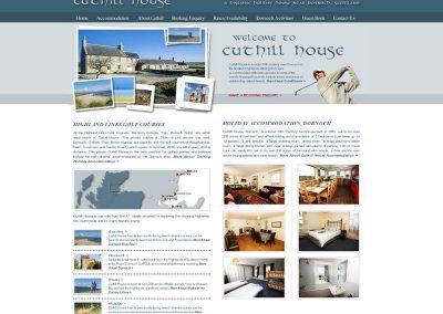 dornoch-holiday-home Web Design Edinburgh