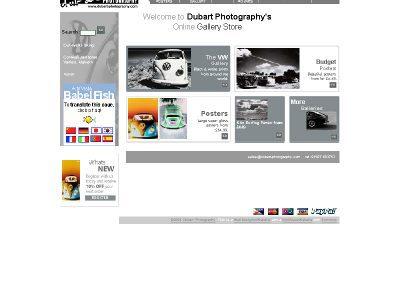 dubart photography Web Design Edinburgh