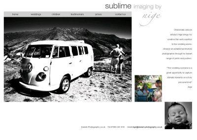dubart-weddings photography Web Design Edinburgh