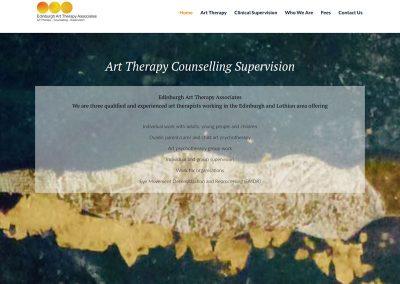 edinburgh-art-therapy Web Design Edinburgh