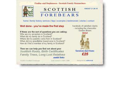 forebears Web Design Edinburgh 01