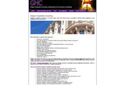 galgani Holiday Web Design Edinburgh