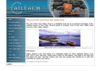 galley professional Web Design Edinburgh