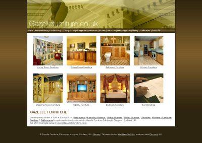 gazelle contruction Web Design Edinburgh