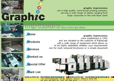 giprint Design Services Web Design Edinburgh