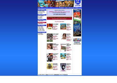 grange-calendars Ecomerce Web Design Edinburgh