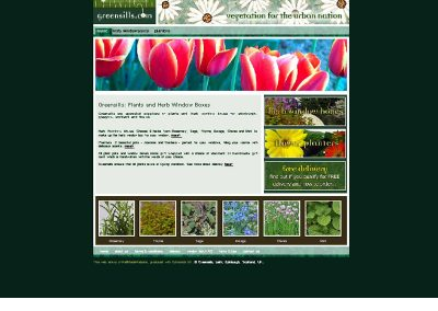 greensills Home and Garden Web Design Edinburgh