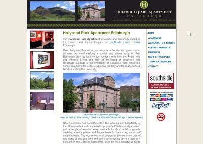 holyrood Hotel Web Design Edinburgh