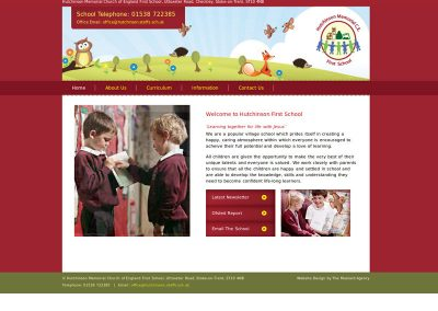 hutchinsonSchool Web Design Edinburgh