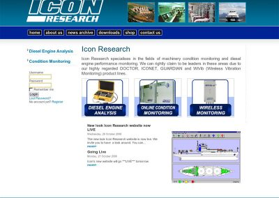 icon engineering Web Design Edinburgh