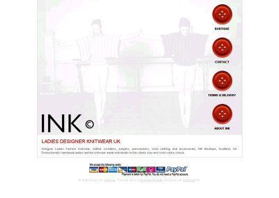 ink ecommerce Web Design Edinburgh