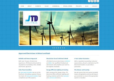 jtdelectrical electricians Web Design Edinburgh