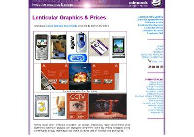 lenticulargraphics Ecommerce Web Design Edinburgh