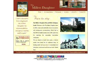 millersdaughter hotel Web Design Edinburgh