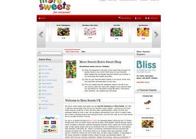 more sweets Web Design Edinburgh