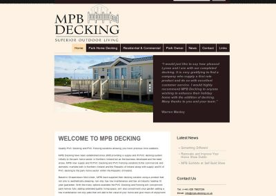 mpb-decking Web Design Edinburgh