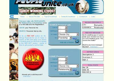 peopleunite dating Web Design Edinburgh