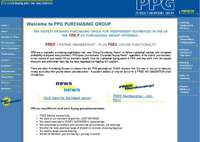 ppg Professional Services Web Design Edinburgh