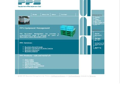 pps Engineering Web Design Edinburgh