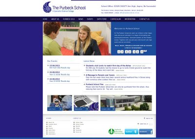 purbeck School Web Design Edinburgh