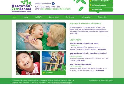 rosewoodfree School Web Design Edinburgh