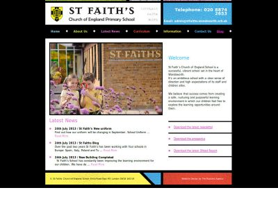 stfaiths School Web Design Edinburgh