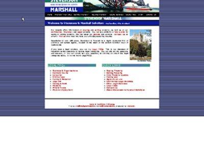 stmarshall Engineering Web Design Edinburgh