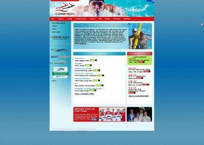 swimed Charity & Professional Web Design Edinburgh