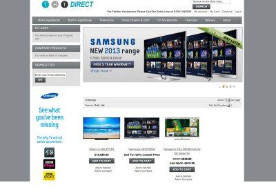thtdirect ecommerce Web Design Edinburgh