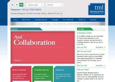 translationmanagement Web Design Edinburgh