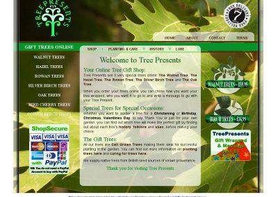 treepresents Web Design Edinburgh