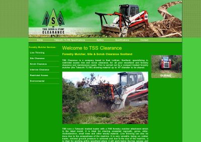 tssclearance Web Design Edinburgh